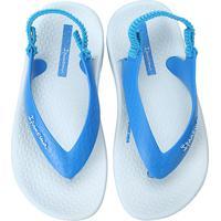 Chinelo Infantil Grendene Ipanema Baby Masculino - Masculino-Azul