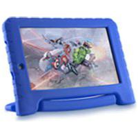 Tablet Multilaser Vingadores Plus Azul, 3G, Tela De 7Quot;, Android, Quad Core, 16Gb De Capacidade E Camera De 2.0
