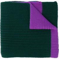 Moncler Cachecol Com Logo - Green
