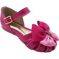 Sapato Boneca Com Tiras- Pink- Mz Kidmz Kid