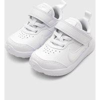 Tênis Nike Infantil Varsity Leather Branco