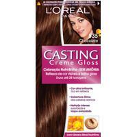 Coloração Permanente Casting Creme Gloss N° 535 Chocolate L'Oréal 1 Unidade