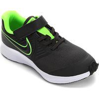 Tênis Infantil Nike Star Runner 2 Psv Masculino - Masculino-Verde+Branco