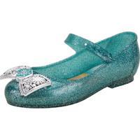 Sapatilha Infantil Frozen Power Glam Grendene Kids - 22220 Verde 28