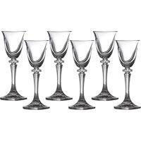 Conjunto De 6 Taças Para Licor Em Vidro 50Ml Kleopatra Bohemia