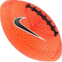 Minibola De Futebol Americano Nike 500 4.0 Fb 5 Swoosh - Laranja Escuro