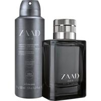 Combo Zaad Go: Eau De Parfum + Desodorante Antitranspirante Aerosol