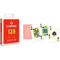 Jogo De Cartas - Baralho Profissional 139 - Vermelho - Copag
