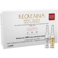 Kit Recrexina 10 Ampolas Hfsc 100% + 10 Ampolas Hssc Antiqueda 200 Feminino - Unissex-Incolor