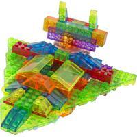 Blocos De Montar Laser Pegs Cruzador Intergalático 12 Em 1 Colorido