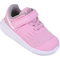 Tênis Infantil Nike Star Runner Velcro Feminino - Feminino-Rosa+Cinza
