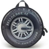 Lancheira Hummer 23X23X11 Cm Cinza Luxcel