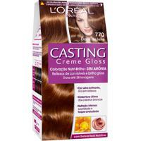 Coloração Permanente Casting Creme Gloss N° 770 Doce De Leite L'Oréal 1 Unidade