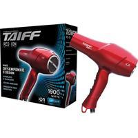 Secador Taiff Profissional Red Ion Elegance 1900W 127 V