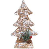 Árvore De Natal Em Cerâmica - 17Cm