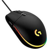 Mouse Óptico Para Jogos Lightsync Preto - Logitech - G203