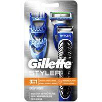 Aparelho De Barbear Gillette Styler 3 Em 1 Com 1 Unidade 1 Unidade