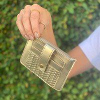 Porta-Cartões Anacapri Anacapri Dourado