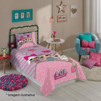 Jogo De Cama Lolâ® Solteiro- Rosa Claro & Pink- 3Pã§S