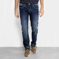 Calça Jeans Slim Colcci Alex Estonada Masculina - Masculino-Jeans