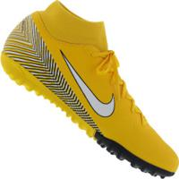 64713cfbe3891 Chuteira Society Nike Mercurial Superfly X 6 Academy Neymar Jr. Tf - Adulto  - Amarelo