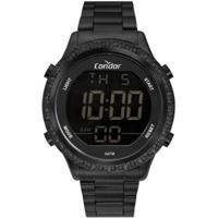 Relógio Condor Digital Cobj3463Aj/4P Feminino - Feminino-Preto