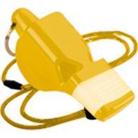 Apito Premium Pro C/ Bocal De Silicone - Gold Sports - Unissex-Amarelo