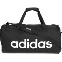Mala Adidas Lin Duffle - Unissex-Preto+Branco