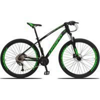 Bicicleta Aro 29 Dropp Tx Bull Câmbio Acera 27V Freio Hidráulico Susp Com Trava - Unissex