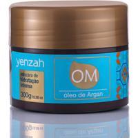 Máscara De Tratamento Yenzah Om Óleo De Argan Hidratação Intensa 300G