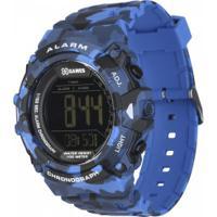 Relógio Digital X Games Xmppd489 - Masculino - Azul/Preto