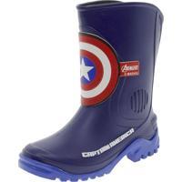 Bota Infantil Masculina Avengers Elite Azul Grendene Kids - 21559