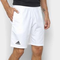 Short Adidas Club 9 Masculino - Masculino-Branco+Preto
