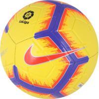 9aefdf0dc0 ... Bola De Futebol De Campo Nike Strike La Liga - Amarelo Roxo
