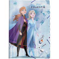 Pasta Ofício Com Elástico - 33X23 Cm - Disney - Frozen 2 - Dac