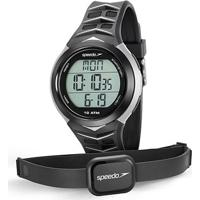Monitor Cardíaco Speedo 80621G0Evnp - Unissex-Preto+Cinza
