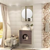 Conjunto Para Banheiro Florença I Taeda E Gris Montano
