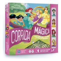 Jogo De Tabuleiro - Princesas Disney - Corrida Mágica - Copag