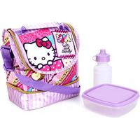 Lancheira Xeryus Hello Kitty - Feminino-Lilás