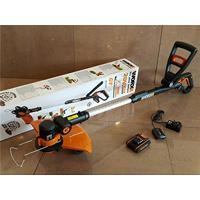 Aparador De Grama A Bateria 20V Lítio E Carregador Bivolt-Worx-Wg169E