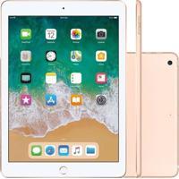 "Tablet Apple Ipad 9.7"" Wi-Fi 128Gb Mrjp2Cla Dourado"
