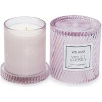 Vela Copo Redoma 55H Violet E Honey - Lilás