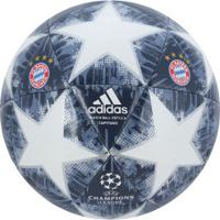 Bola De Futebol De Campo Bayern De Munique Champions League Finale 18 Adidas  - Branco  8e03c12aa2b6a