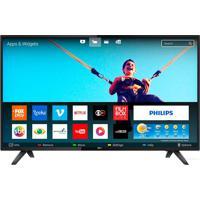 Smart Tv Led 43 Polegadas Full Hd Wifi 2 Usb 2 Hdmi Conversor Digital Philips Bivolt 43Pfg5813
