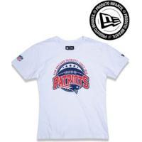 Camiseta Infantil New England Patriots Nfl New Era Masculino - Masculino