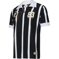 Netshoes  Camisa Polo Retrô Gol Sócrates Ex - Corinthians 1983 Torcedor  Masculina - Masculino 47a752dc2685e