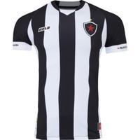 Camisa Do Botafogo-Pb I 2020 Nº 10 Belo - Masculina - Preto/Branco