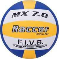 Bola Raccer Vôlei Oficial Pro Mx 7.0 - Unissex