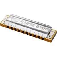 Gaita Harmônica Hohner Marine Band 1896/20 C (Dó)