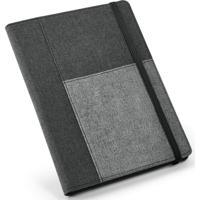 Caderno Executivo Com Porta Celular Topget Cinza - Tricae
